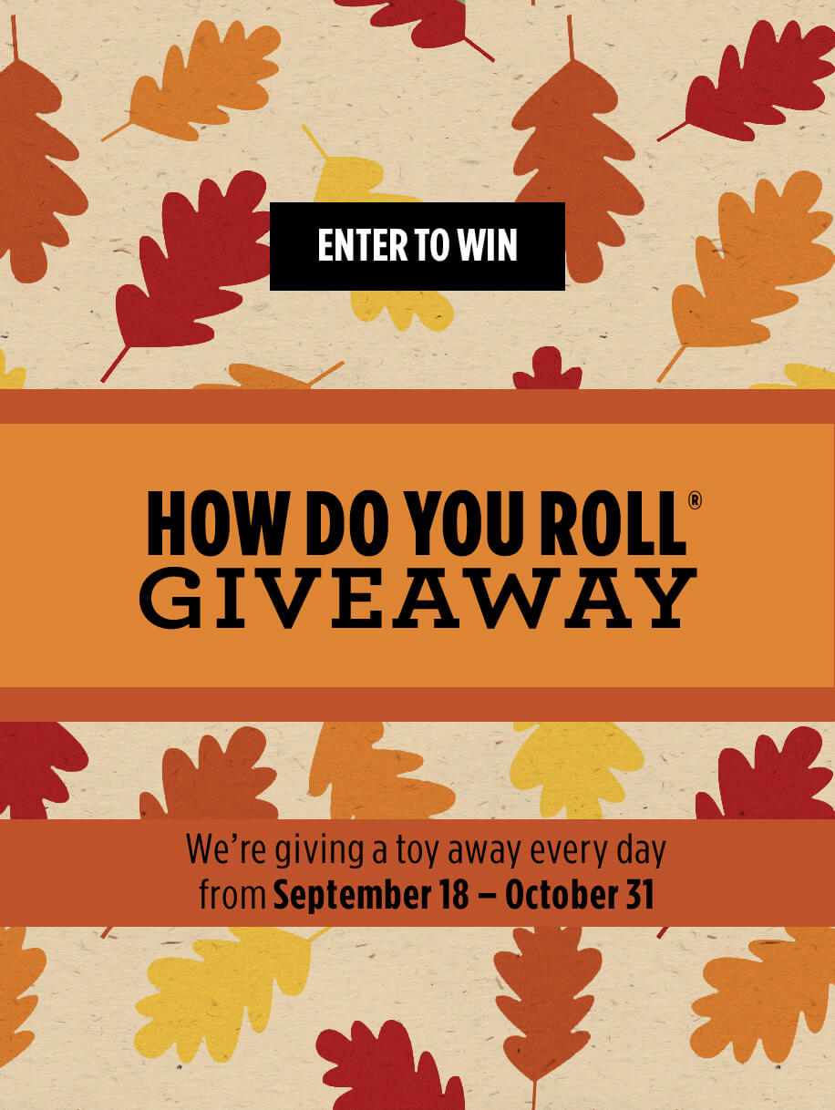 How Do You Roll Giveaway